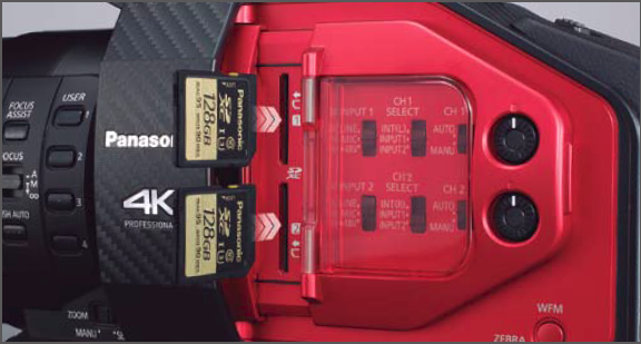 SD Memory Card U3 Standard for 4K Acquisition